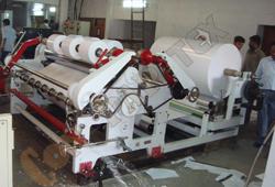 Maquina de Papel de Rebobinadora de la Cortadora